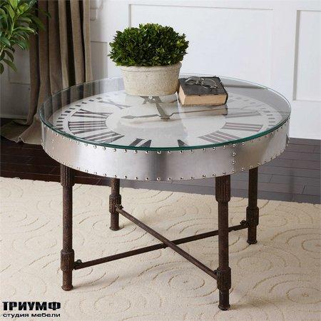 Американская мебель Uttermost - Cassem Clock Table
