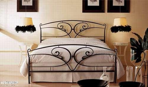 Итальянская мебель Giusti Portos - Спальня с изогнутым изголовьем Calipso