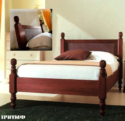 Итальянская мебель De Baggis - Кровать L0422