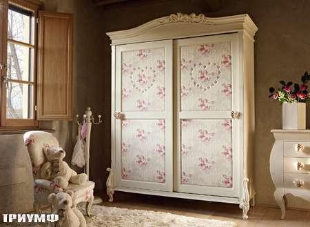 Итальянская мебель Volpi - шкаф с ангелочками Diletta/Capri