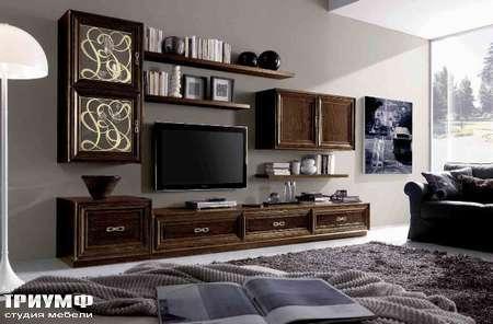 Итальянская мебель Giorgio Casa - Casa Serena композиция под ТВ
