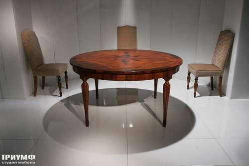 Итальянская мебель Cornelio Cappellini - Стол круглый с инкрустацией