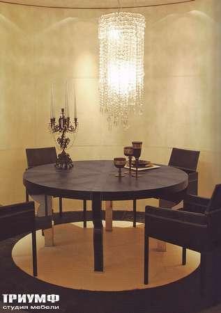 Итальянская мебель Rugiano - Стол круглый Doky