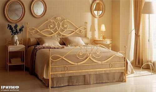 Итальянская мебель Giusti Portos - Спальня в золоте Merylin
