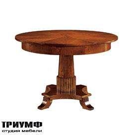 Итальянская мебель Morelato - Стол круглый на 1-ой ноге