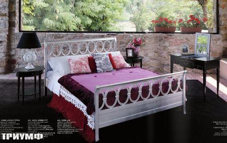 Итальянская мебель Tonin casa - кровать в стиле ар деко