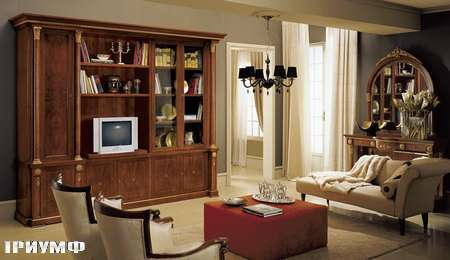 Итальянская мебель Grilli - стенка закрытая