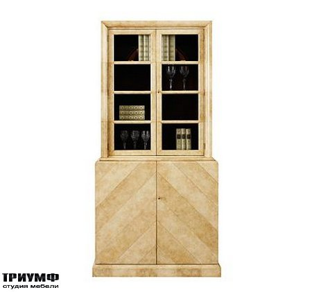 Американская мебель Henredon - FRANCIS DISPLAY CABINET