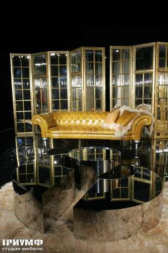 Итальянская мебель Cornelio Cappellini - Диван Chester и зеркальные перегородки
