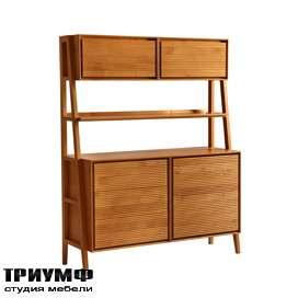 Итальянская мебель Morelato - Буфет с надстроенными шкафами