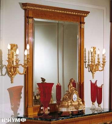 Итальянская мебель Colombo Mobili - Зеркало в имперском стиле арт.320 кол. Salieri