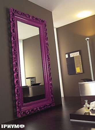 Итальянская мебель Vismara - зеркало baroque