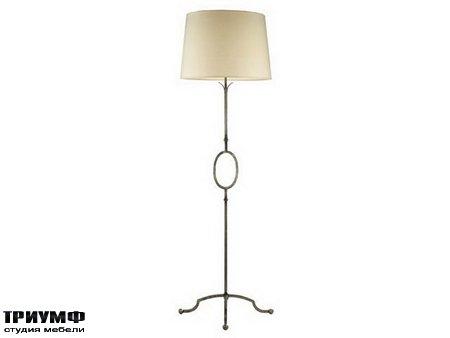 Американская мебель Chaddock - Forged Iron Floor Lamp