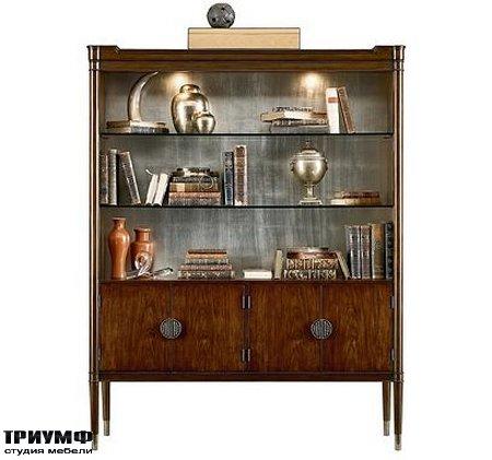 Американская мебель Henredon - MADELON DISPLAY CABINET