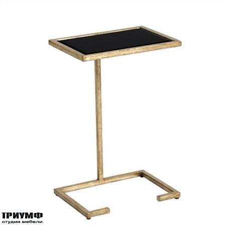 Американская мебель la Barge - Antique Gold Finished Occasional Table