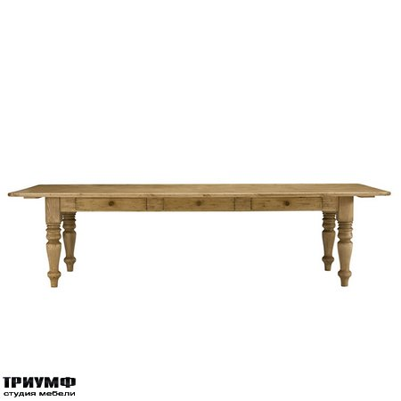 Американская мебель Ralph Lauren Home - HOXTON FARM HOUSE TABLE