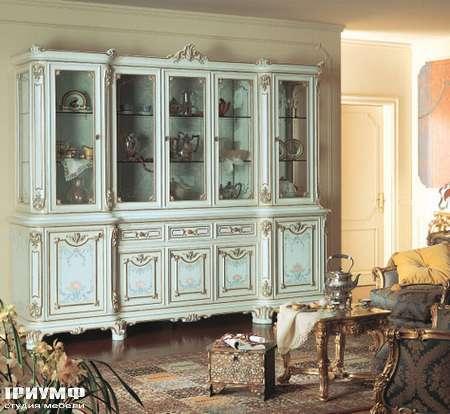 Итальянская мебель Silik - Витрина 5-ти створчатая Demetra
