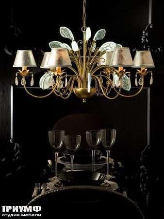 Освещение Eurolampart - Люстра 9 рожковая с венецианским стеклом
