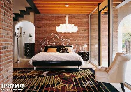 Итальянская мебель Luciano Zonta - Notte Letti кровать Hermitage