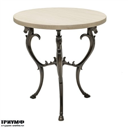 Американская мебель la Barge - Barcelona Bronze Finished Aluminum Occasional Table
