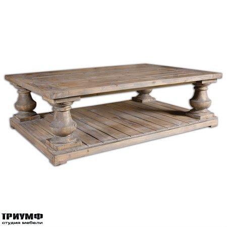 Американская мебель Uttermost - Stratford Cocktail Table