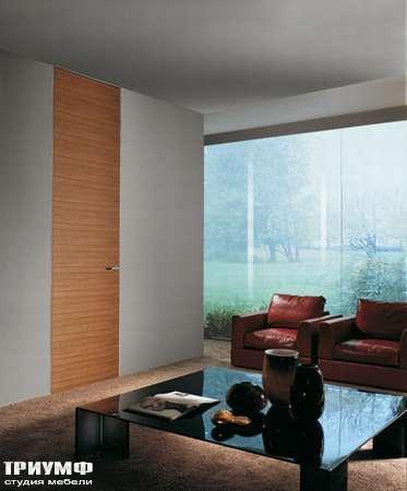 Итальянская мебель Longhi - Дверь распашная шпонированная Wood
