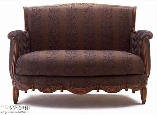 Итальянская мебель Medea - Диван классический трехместный, резьба по дереву