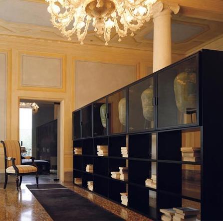 Итальянская мебель Olivieri - Стенка Surprise, открытый стеллаж