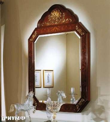 Итальянская мебель Colombo Mobili - Зеркало в имперском стиле арт.404 кол. Salieri