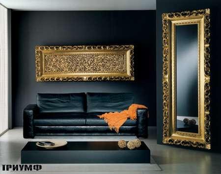 Итальянская мебель Vismara - зеркало напольное body baroque