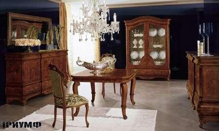 Итальянская мебель Grilli - стол квадратный, раздвижной