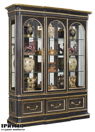 Американская мебель Marge Carson - Grand Traditions Display Cabinet