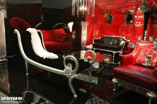 Итальянская мебель Cornelio Cappellini - Лежанка фигурная