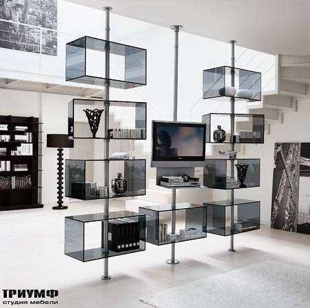 Итальянская мебель Porada - Стойка под ТВ dominotv
