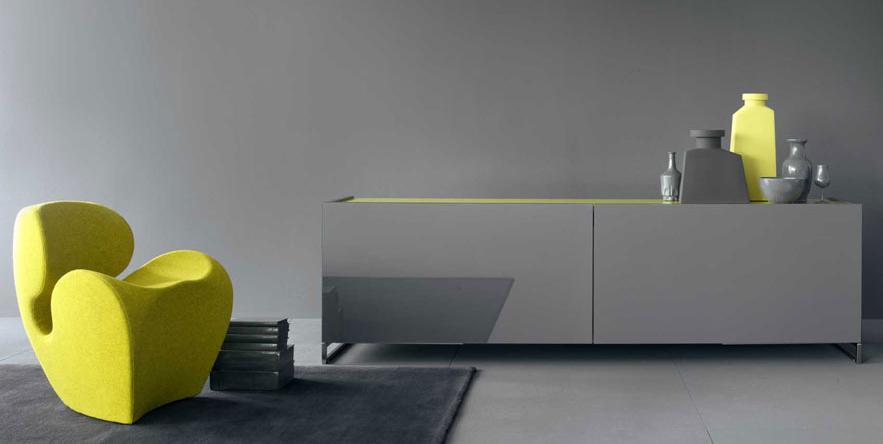 Итальянская мебель Olivieri - Комод Cube в глянцевом лаке