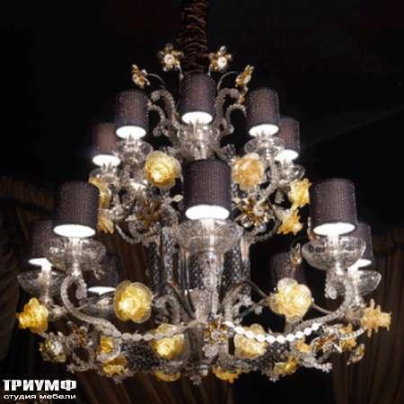 Итальянская мебель Jumbo Collection - Люстра c розами Shangri-La