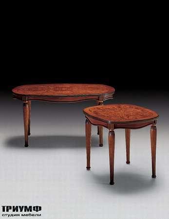 Итальянская мебель Medea - Стол овальный с радикой арт. 516