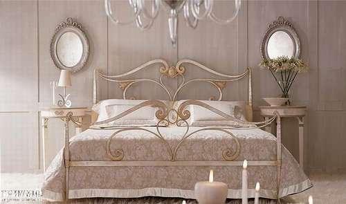 Итальянская мебель Giusti Portos - Спальня кованая тонированная Ducale
