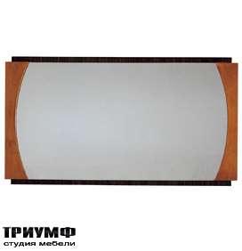Итальянская мебель Morelato - Зеркало в фигурной раме кол. Biedermeier