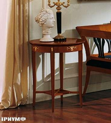 Итальянская мебель Colombo Mobili - Столик в имперском стиле арт.134.60 кол. Donizetti