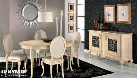 Итальянская мебель Giorgio Casa - Memorie Veneziane комод, стол и стулья