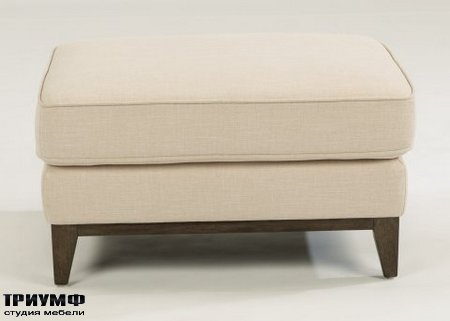Американская мебель Flexsteel - Albright Fabric Ottoman