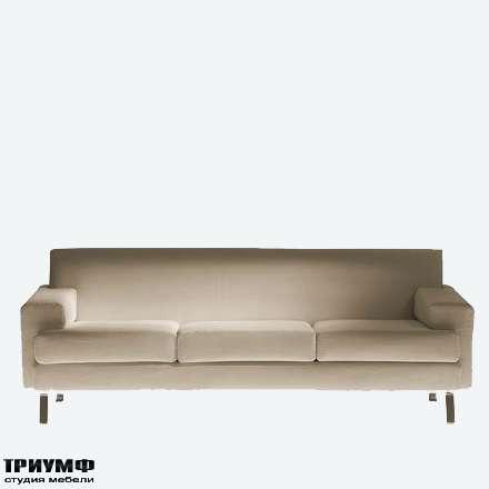 Итальянская мебель Driade - Диван трехместный в ткани