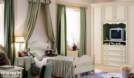 Итальянская мебель Ferretti e Ferretti - Спальня, крашенное дерево, happy night
