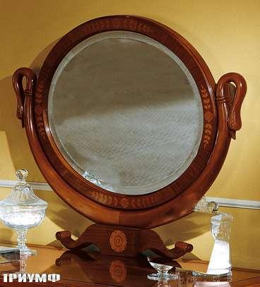Итальянская мебель Colombo Mobili - Зеркало овальное арт.402 кол. Ponghielli