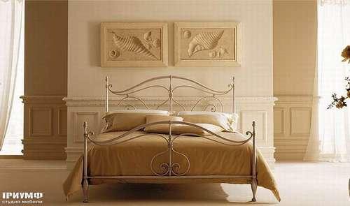 Итальянская мебель Giusti Portos - Кровать с подушками Elegant