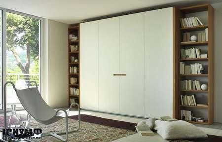 Итальянская мебель Olivieri - Шкаф Opening с открытыми элементами