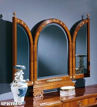 Итальянская мебель Colombo Mobili - Зеркало-трильяж арт.395 кол. Paganini