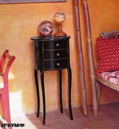 Итальянская мебель Tonin casa - столик прикроватный с ящиками