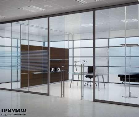 Итальянская мебель Frezza - Кабинет хай тек, коллекция Areaplan Kristal